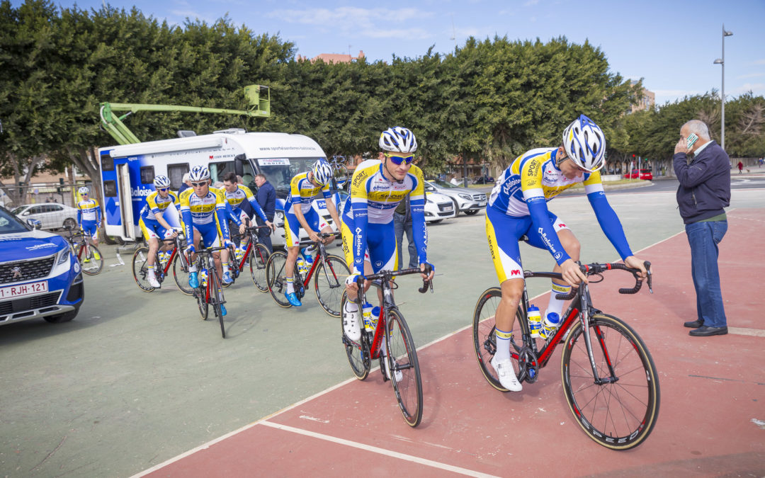 WANTY GROUPE GOBERT Y SPORT VLAANDEREN BALOISE PRESENTES
