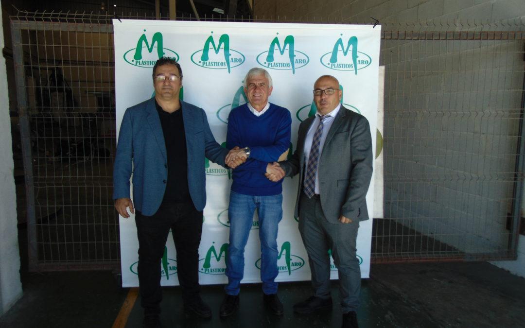 Plásticos Maro, señalización oficial de la Clásica de Almería 2019