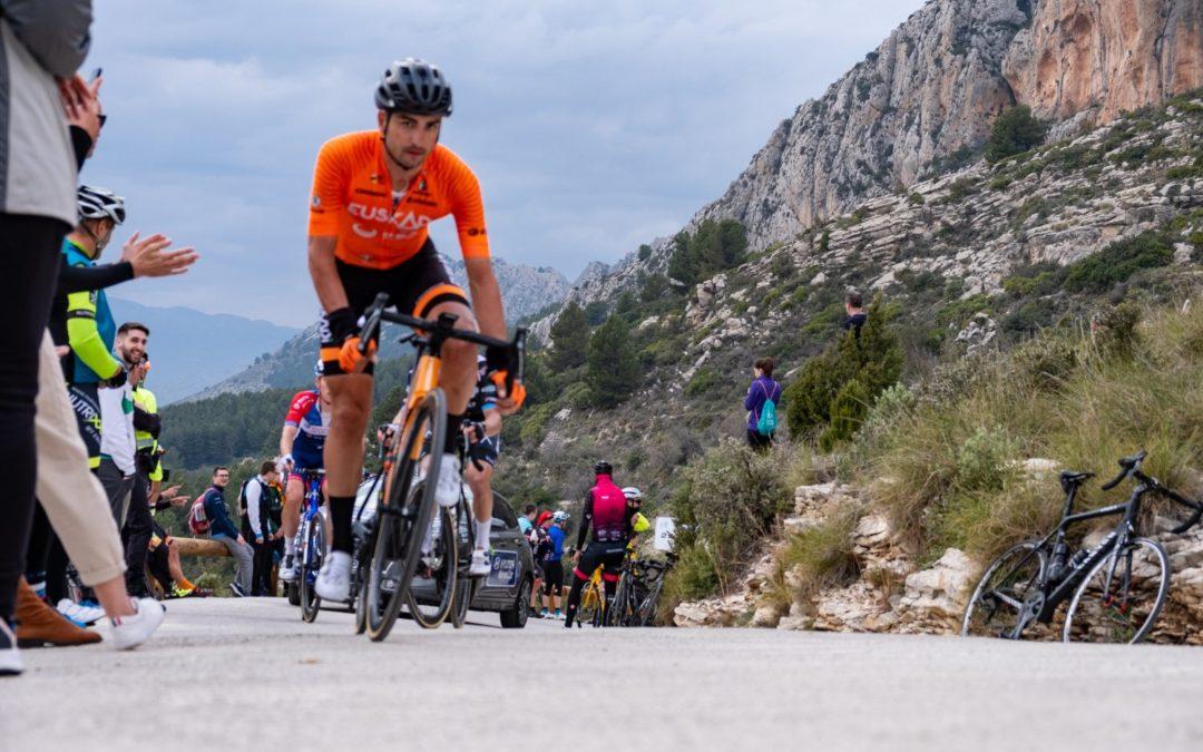 Lobato, último podio español, vuelve a la Clásica de Almería con Euskatel-Euskadi
