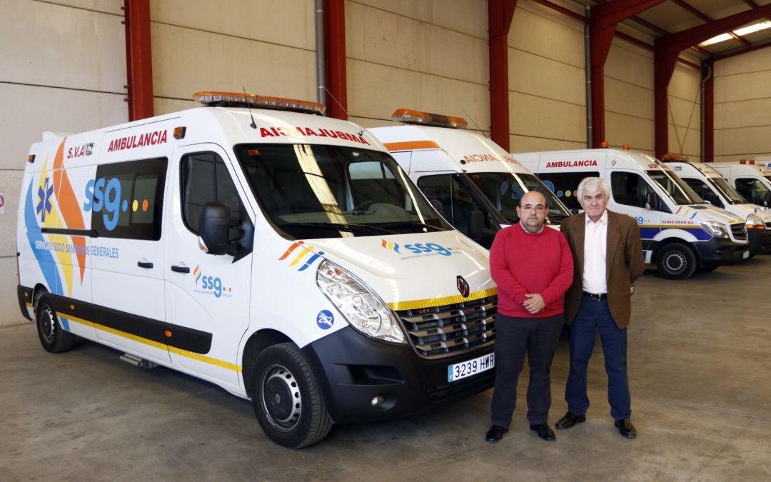 SSG Servicios Socio Sanitarios Generales, las ambulancias de la Clásica de Almería