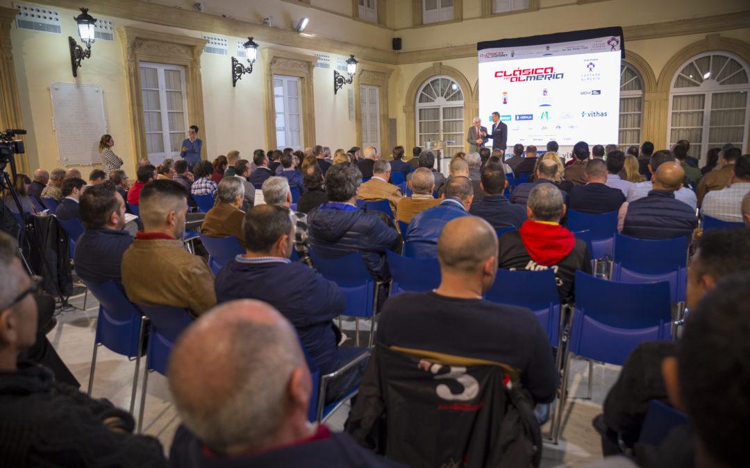 Presentada la 33ª Clásica de Almería, paraíso para los mejores sprinters del pelotón internacional
