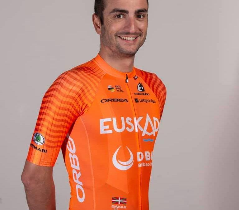 """Lobato, último podio español: """"Llego bien y volver a vestir el maillot naranja es un privilegio"""""""