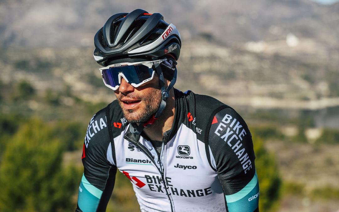 Luka Mezgec, líder del BikeExchange en la Clásica de Almería